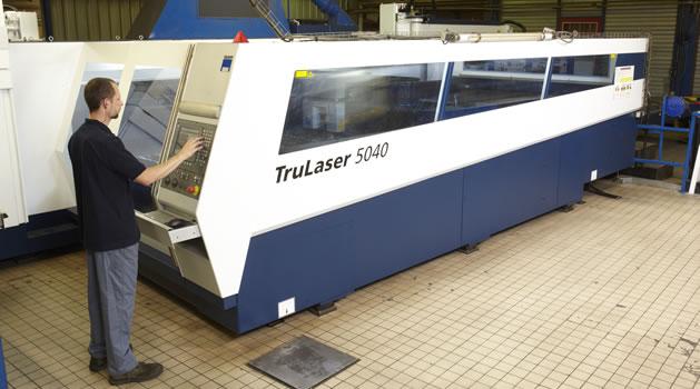 Découpe Laser 2D - Machine TRUMPF 5040 - 6000 W